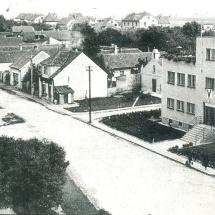 Obecní dům a část ulice Květnového vítězství