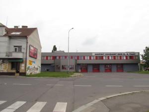 Hasičská stanice v roce 2015. Zdroj: Autor