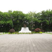 Památník na hřbitově