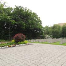Pohřebiště padlých vojáků