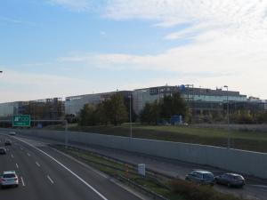 Kancelářský komplex The Park v roce 2015