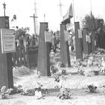 Původní pohřebiště rudé armády